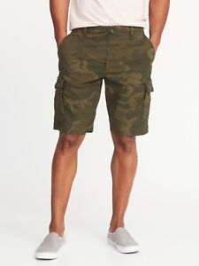 e2295d1c3e OLD NAVY Lived-In Built-In Flex Ripstop Cargo Shorts Men 10-inch ...