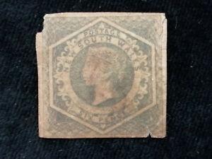 Australia (colonie britannica) neusüdwales 1854/1872 - regina Viktoria 6 P. 2