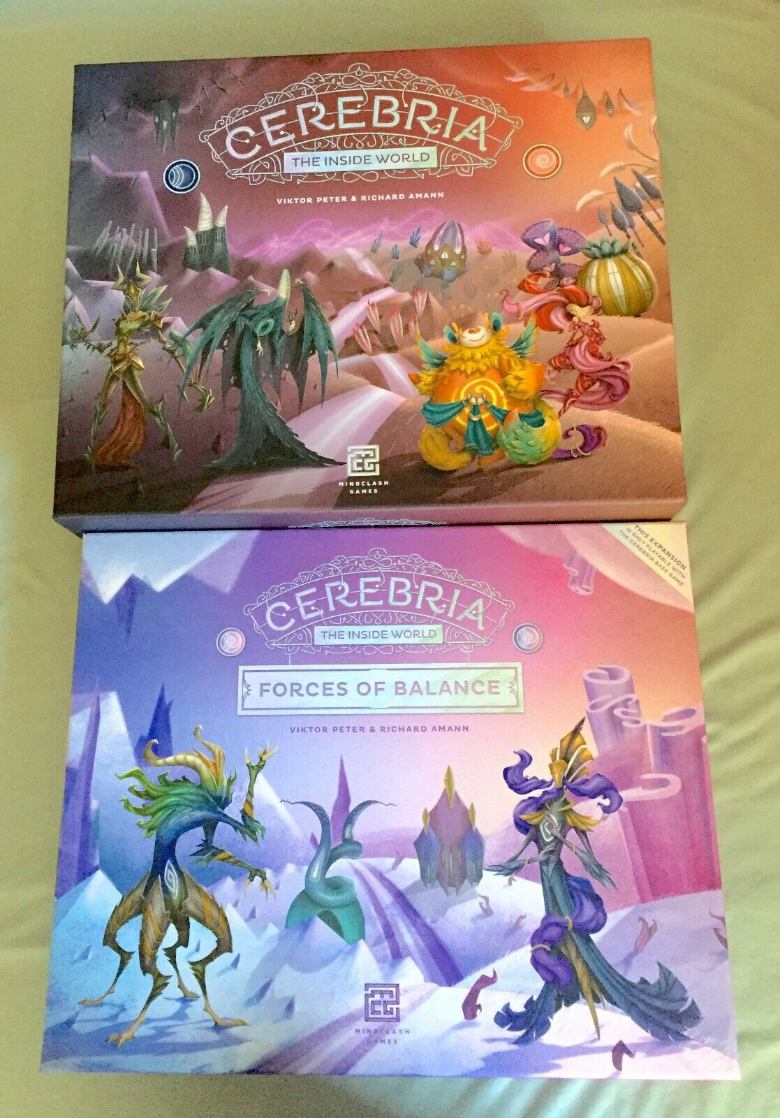Cerebria The Inside World + Forces of Balance Expansion - Gently used