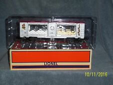 LIONEL 6-29699 SILVER AND GOLD CHRISTMAS CAR