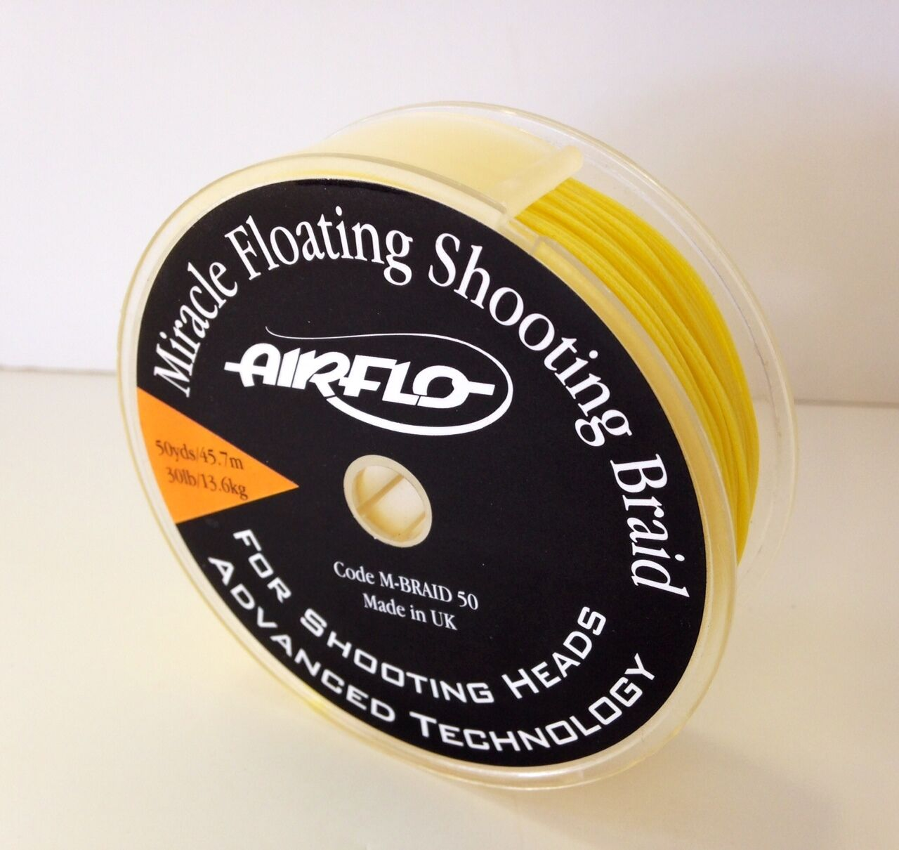 Airflo Miracle Braid Shooting Line - 30lb - Floating - Yellow - New