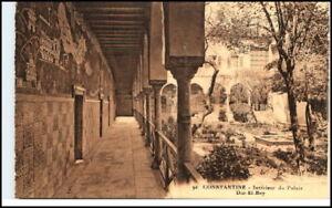 Constantine-Qusantina-1910-Palais-Dar-El-Bey-Postcard