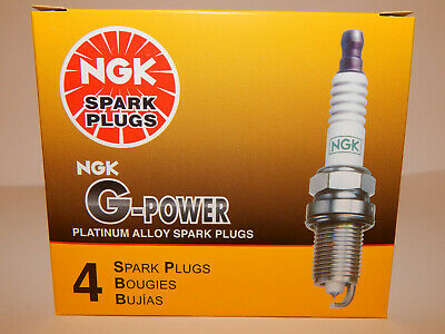 SET OF 4 NGK 3403//TR55GP G-POWER PREMIUM PLATINUM SPARK PLUGS MADE IN JAPAN