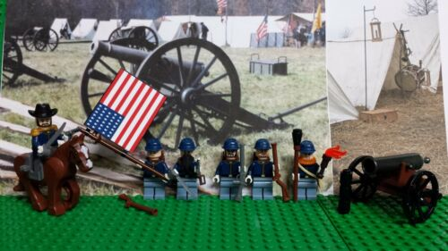 LEGO Civil War Union Soldier Army of the Potomac Grant NEW 100/% Genuine LEGO
