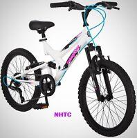 Mongoose 20 Girl's Spectra Bike White Pink Black on sale