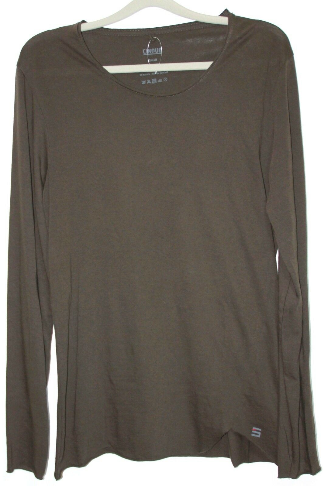 Cinque Shirt Men's Long-Sleeved Cigabiano in Olive SIZE L NEW with LABEL