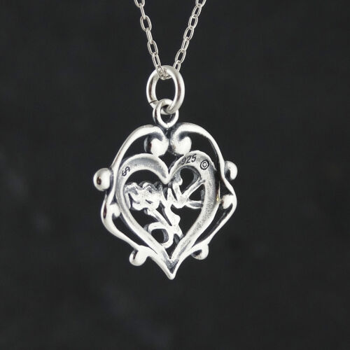 Sweet 16 Necklace Filigree Pendant Birthday Gift NEW 925 Sterling Silver