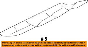 Manifold-Exhaust-Heat Shield Right 9L3Z9A462C OEM Ford NOS New Old Stock
