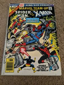 Marvel Team-Up King-Size Annual # 1 Featuring Spider-Man & The X-Men