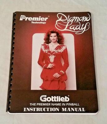 Gottlieb Premier Big Hurt Pinball Machine Original Manual NOS Free Shipping New