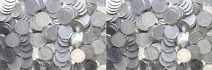 Mercancía por Kilo Rda - 1000 Gramos Monedas Para 10 Peniques Conservación
