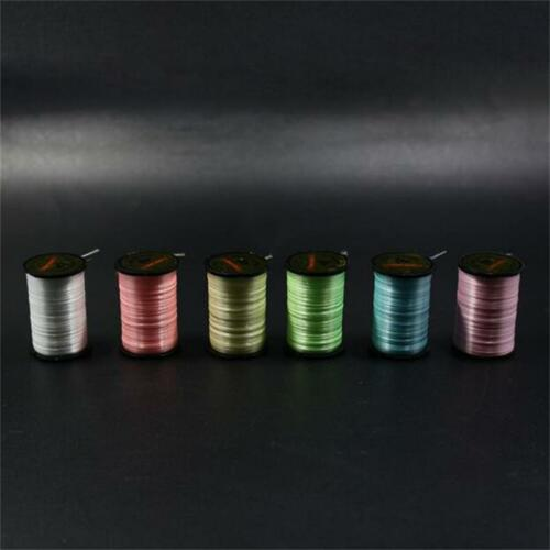 6color 150D denier luminescent fly tying thread 250yd per spool fly fishing line