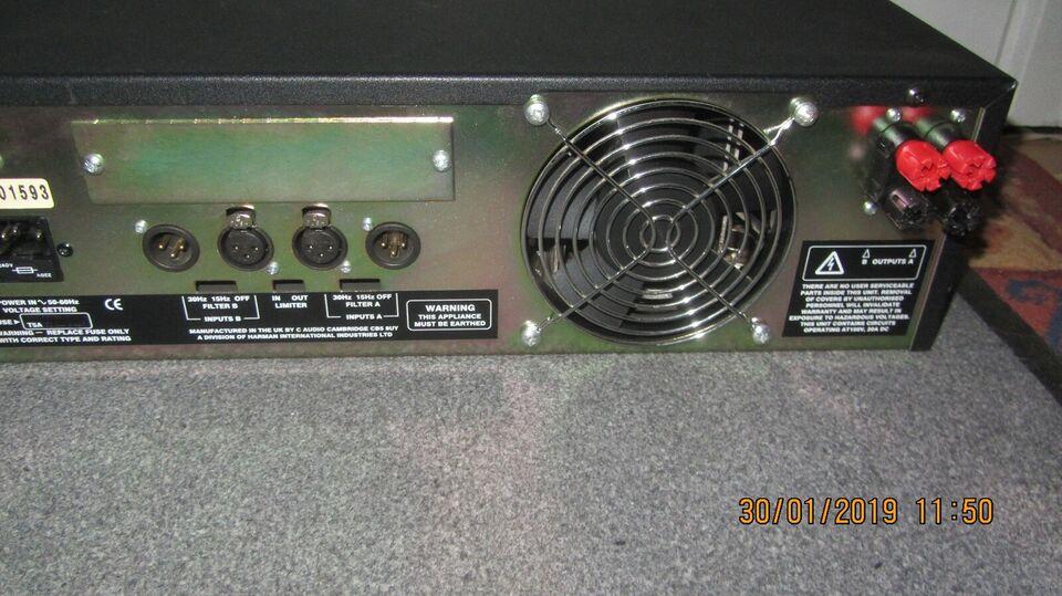 Power Amp, C-Audio GB602 - 2x600Watt