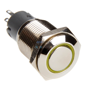 DimasTech-Black-Push-Button-16mm-ID-Alternate-Action-LED-Color-yellow-PD010