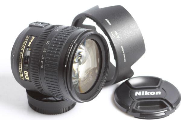 Acheter Pas Cher Nikon Af-s Nikkor Zoom 3,5-4,5/18-70mm G Ed Fx-m G Ed Dx