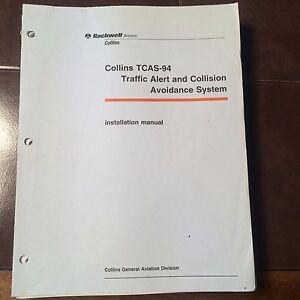 collins tcas 94 system install manual ebay rh ebay com