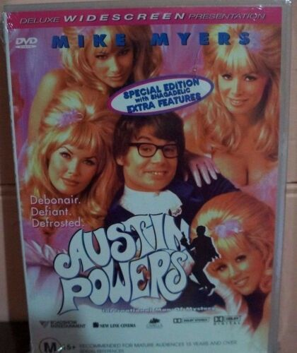 1 of 1 - Austin Powers - International Man Of Mystery (DVD, 1998)