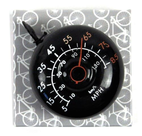 VINTAGE STYLE METAL SPEED DIAL BICYCLE BELL BIKE SPORTS  NEW IN GIFT BOX