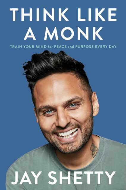 Think Like a Monk: Train Your Mind By Jay Shetty NEW Paperback Book Sept 2020