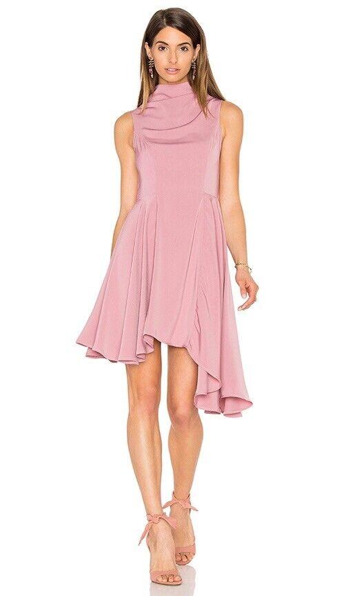 Keepsake Break Even Mini Dress In pink Pink