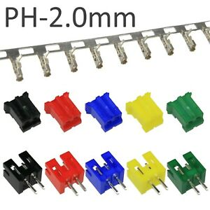 2-pin-Colour-PH-2-0mm-Connector-Sets-JST-PH-Style