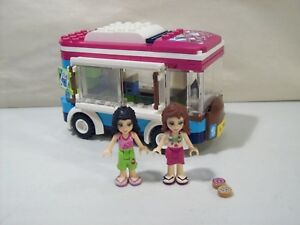 Lego Friends Hot Chocolate Van With 2 Mini Fig Figures Olivia Emma