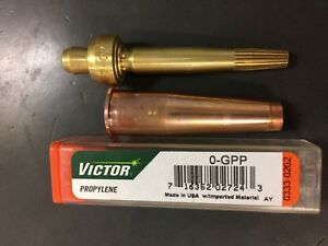 Genuine Victor 1-1-303MP Cutting Torch Tip Mapp or Propylene fits Large Victor