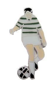 Celtic Football Player Pin Badge - LAST FEW
