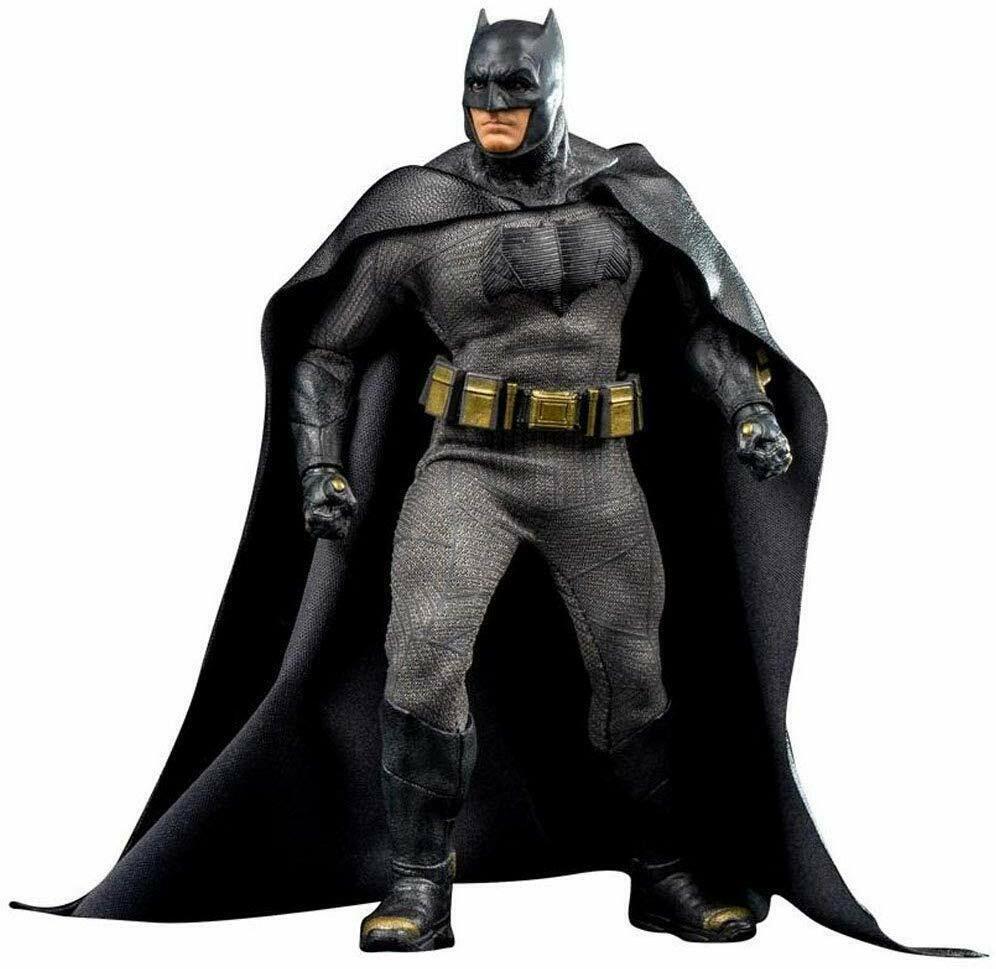 ONE 12 Batuomo v Superuomo Ben Affleck as The Dark Knight azione cifra Mezco RARE