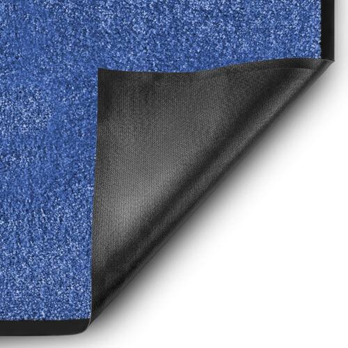 SauberlaufmatteRhineUnicolorBlau12 GrößenSauberlaufteppich