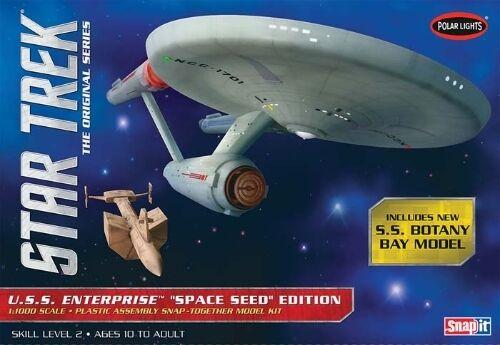 Polar Lights 1:1000 Star Trek TOS Enterprise Plastic Model Kit POL908 PLL908