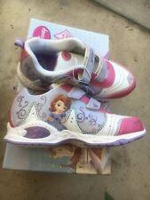 NEW Disney Toddler Girl/'s Sofia The First Sneaker Light-up Sz:11 12