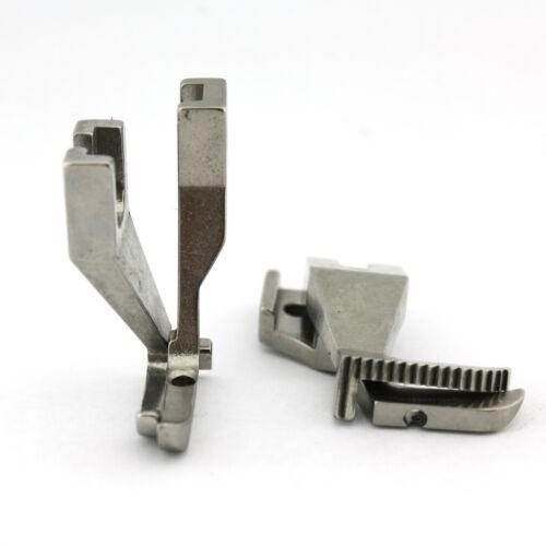 Left Toe Edge Stitching Zipper Foot Set For Juki DU-1181 Chandler DY-337