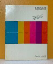 Singer Instrumentation Gertsch 1969 Instruments For Electronics Catalog G 69