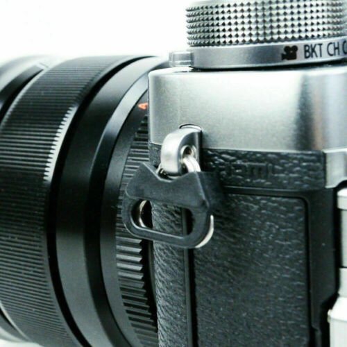 4x Cámara Correa Triángulo Split Anillo Adaptador Tapa Para Fuji Nikon Lecia Canon P8D6