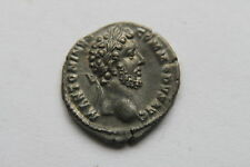 MINT ANCIENT ROMAN COMMODUS SILVER DENARIUS COIN 2nd CENT AD