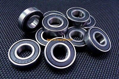 "ABEC-3 Rubber Sealed Ball Bearing R166RS Blue 5 PCS R166-2RS 3//16/""x3//8/""x1//8/"""