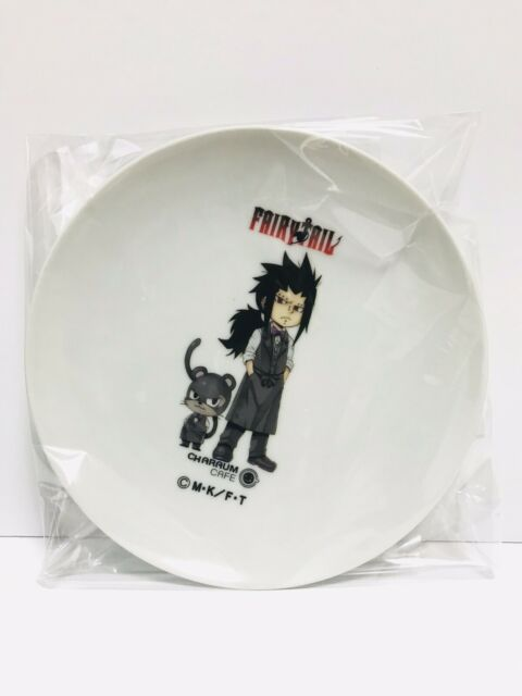 Fairy Tail Charaum cafe Limited Gajeel Redfox acrylic Keychain Japan