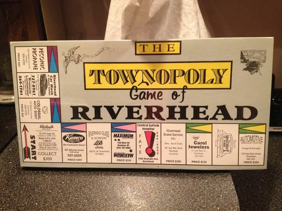 The Townopoly Game of Riverhead Family Board Game Brand New Sealed