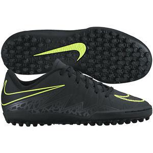 702f62e3acff Nike HyperVenom TF Phelon II Turf 2016 Soccer Shoes Black / Yellow ...