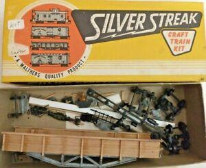 HO scale Silver Streak NYC Hart Convertable Gondola vintage Rare