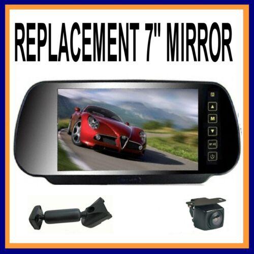 "REAR VIEW HD 800 X480 7/"" REPLACEMENT TOYOTA MIRROR REVERSING CAMERA  2 INPUTS"