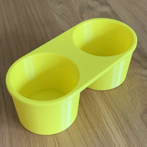 VW CADDY CUPHOLDER INSERT never Spill A Drink Again All Models Choose Colour