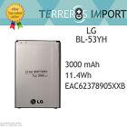 Bateria LG BL-53YH G3 D855 Capacidad Original 3000mah