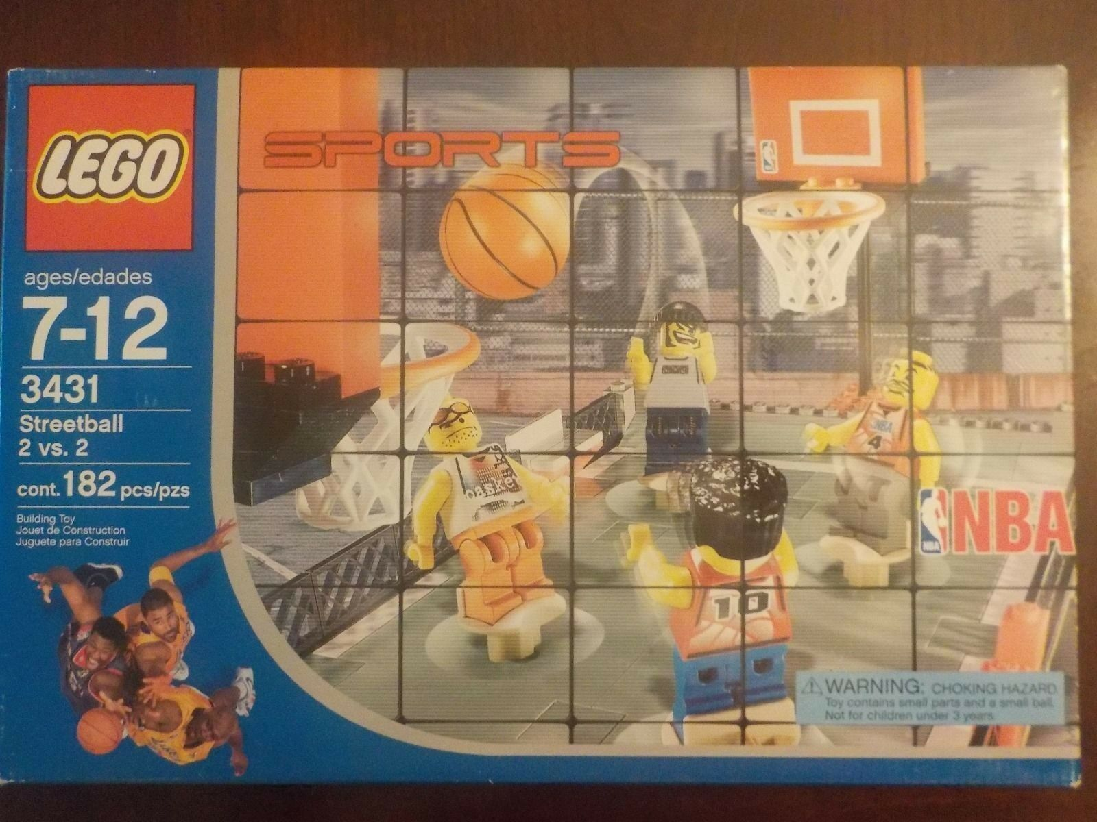 Lego Sports Streetball 2 vs 2 Nuevo Sellado