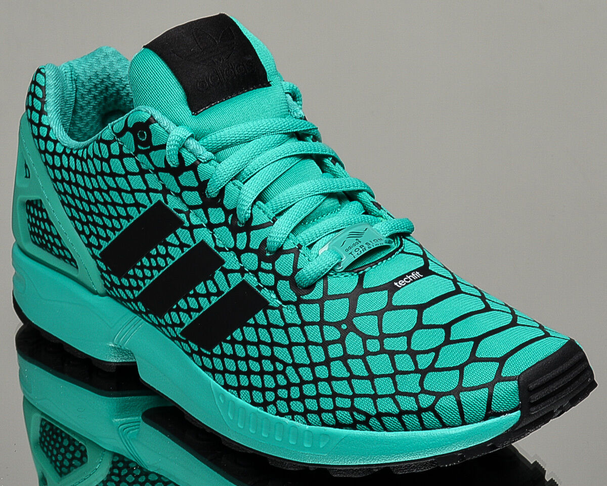 adidas Originals ZX Flux Techfit men lifestyle casual sneakers electric green