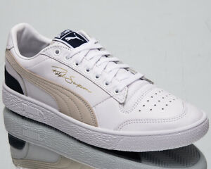 Details about Puma Ralph Sampson Low OG Mens White Casual Lifestyle Sneakers Shoes 370719 01