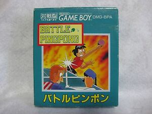 Details about Battle Ping Pong Complete Game Boy Japan Video Game GB