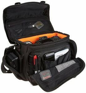 Image Is Loading Large Camera Bag Gadget Messenger Interior Storage Carry