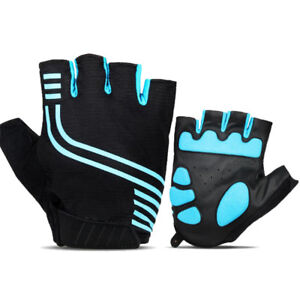 MTB Bike Cycling Half Finger Gel Pads Gloves Bicycle Fingerless Non-Slip Useful